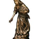 Vierge bronze